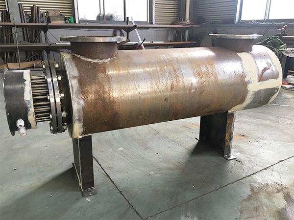 管道加热器生产现场
